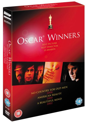 NO COUNTRY FOR OLD MEN/A BEAUTIFUL MIND/AMERICAN BEAUTY [IMPORT ANGLAIS] (IMPORT)  (COFFRET DE 3 ...