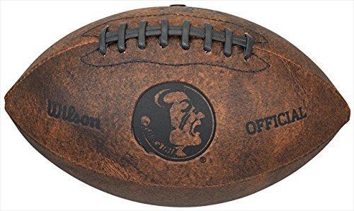 NCAA Florida State Seminoles Wilson 9-Inch Throwback Football