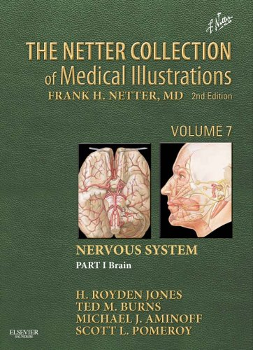 The Netter Collection Of Medical Illustrations: Nervous System, Volume 7, Part 1 - Brain (Netter Green Book Collection) front-119314