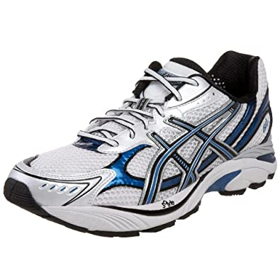 Asics GT-2150 Mens SZ 7 White/Onyx/Royal Trainers Shoes