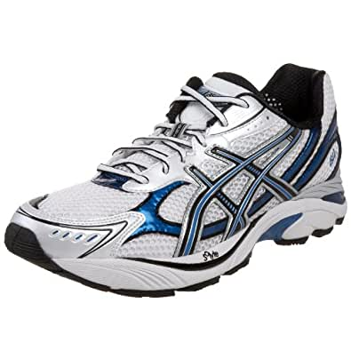 ASICS Men's GT-2150 Running Shoe,White/Onyx/Royal,7 D(M) US