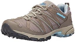Montrail Women\'s Masochist 3 Outdry Mountain Running Shoe, Silver Sage/Sky Blue, 5.5 M US