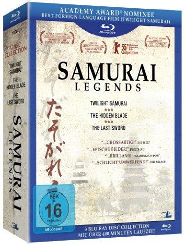 Samurai Legends, Blu-ray