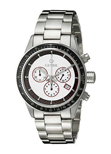 Gevril-Mens-A2113-Tribeca-Analog-Display-Quartz-Silver-Watch