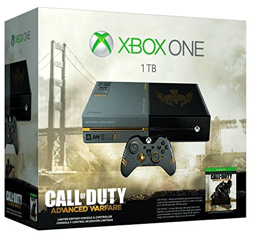 Xbox One Limited Edition Call of Duty: Advanced Warfare Bundle image