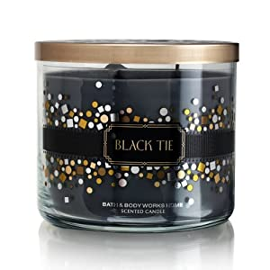 Bath Body Works Black Tie 3-Wick Scented Candle