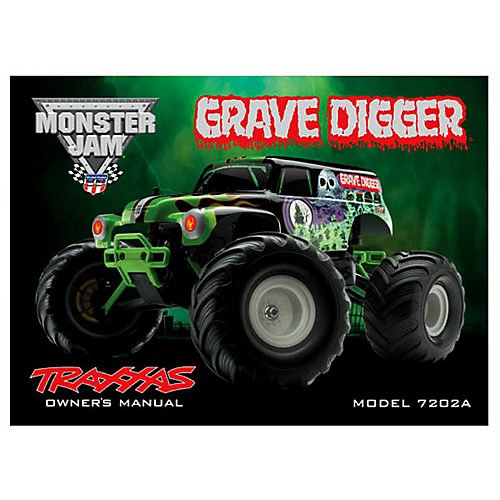 Traxxas 7299 Owners Manual - 1 16 Grave Digger