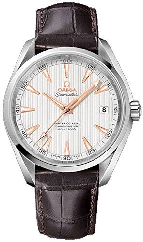 omega-seamaster-aqua-terra-150-m-coaxial-hommes-de-montre-automatique-avec-cadran-argente-affichage-
