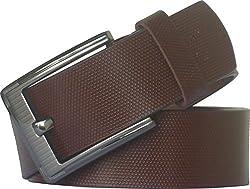 Sondagar Arts Men's Belt (SAB81_Brown_46)