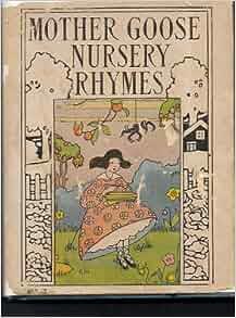 Mother goose nursery rhymes book