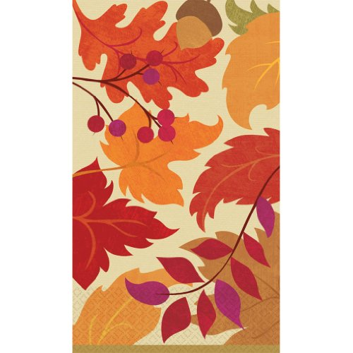 Festive Fall Guest Towel Napkins
