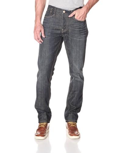Earnest Sewn Men's Kyrre Slim Fit Jean  [Maz Dark]