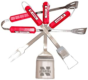 NCAA Nebraska Cornhuskers 4 Piece Barbecue Set