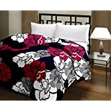 Stylla Shoppers Multi Sun Flower Print A.C Blanket Double Bed Size Dohar