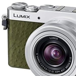 Panasonic ミラーレス一眼カメラ GM5 レンズキット グリーン DMC-GM5K-G