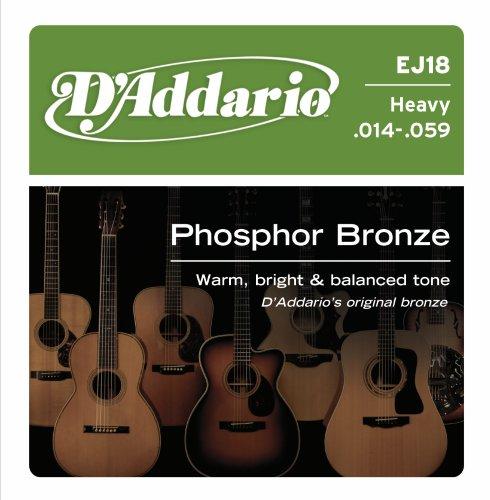 D'Addario EJ18 Phosphor Bronze Acoustic Guitar