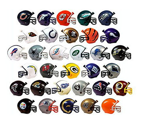 NFL Collectible 32 Teams Mini Helmets Set, 2-inch Each (Football Helmets For Sale compare prices)