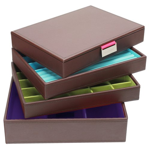 Stackers Brown - Medium Set of 4 Layers