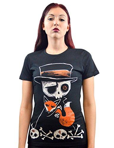 Akumu Ink -  T-shirt - Basic - Maniche corte  - Donna nero Medium