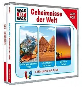 Was Ist Was 3-CD Hörspielbox Vol.3 - Geheimnisse der Welt