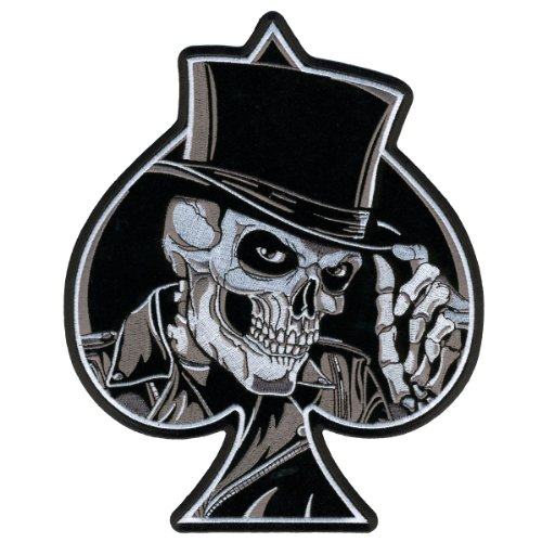 Hot Leathers Top Hat Skull Patch (8