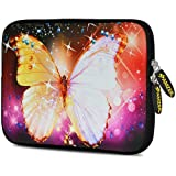 Amzer 7.75 Inch Neoprene Sleeve Sparkling Gatsby For Samsung GALAXY Tab 2 7.0, Google Nexus 7, Amazon Kindle Fire...