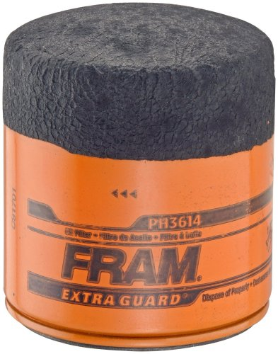 Fram PH3614 Extra Guard Passenger Car Spin-On Oil Filter (Pack of 2) (Oil Filters 3614 compare prices)