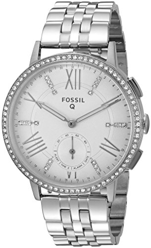 Fossil-Q-Gazer-Gen-2-Hybrid-Silver-Stainless-Steel-Smartwatch