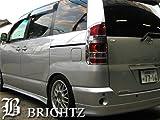 BRIGHTZ 【BRIGHTZ ノア AZR60系 前期 クロームメッキテールライトリング】 3916