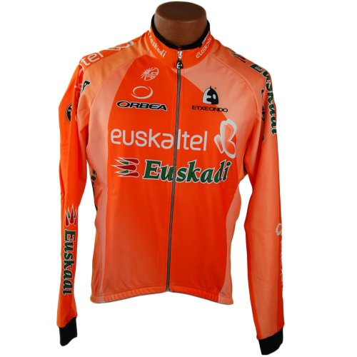 Buy Low Price Etxeondo Team Euskaltel Euskadi Men's Cycling Jacket Medium (B007KIF7JO)