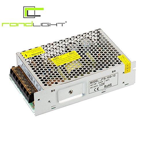 Netzgerät Netzteil Trafo JTS 12V 8.3A 100W für LED Streifen Strip Leuchten