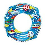 子供 うきわ 男の子 女の子 キッズ 浮輪 プール 海水浴 ビーチグッズ 浮き輪 60cm ブルー-(60cm) rgp460