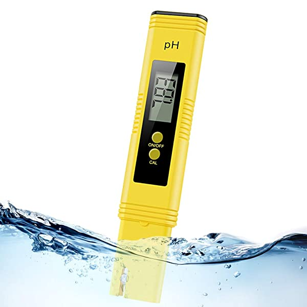 Digital pH Meter, Water PH Test Meter with 0.00-14.00ph Measure Range/PH Meter with ATC,Water Quality Tester for Household Drinking Water, Swimming Po