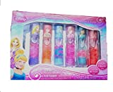 Disney Princess Lip Gloss Fruity Flavors 6 Pack