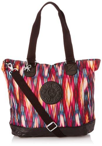 Kipling Womens Shopper Combo Tote K12272B52 Carnival Black C