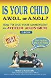 img - for Is Your Child A.W.O.L or A.N.O.L?: How to Give Your Adolescent an Attitude Adjustment (