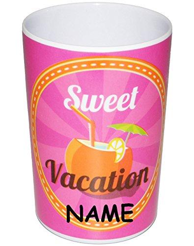 1 st ck sweet vacation sommer 3 in 1 trinkbecher zahnputzbecher malbecher incl. Black Bedroom Furniture Sets. Home Design Ideas