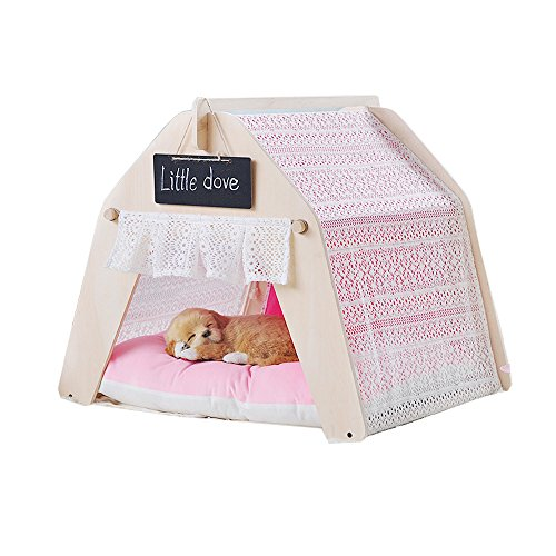 Free Love@New pink lesi Ger design Pet Kennels Pet Play House Dog Play Tent Cat /Dog Bed