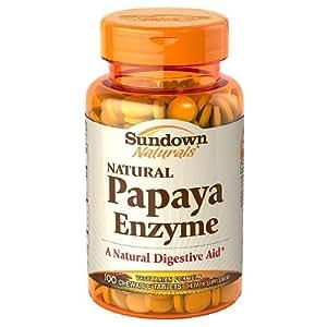 Organic papaya enzyme tablets
