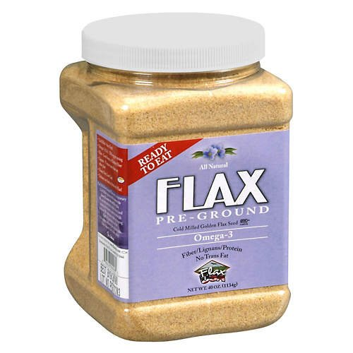Flax Seed, Pre-Ground - 40 oz.