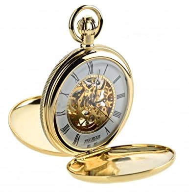 Jean Pierre Pocket Watch G256 PM SPW Gold Plated Double Hunter