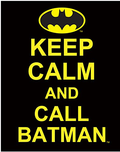 C&D Visionary DC Comics Batman Keep Calm And Call Batman Sticker