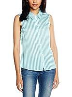 Trakabarraka Camisa Mujer Abedul (Azul)