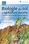 Biologie du sol et agriculture durabl...