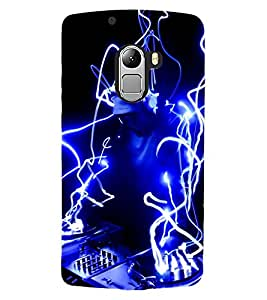 ColourCraft DJ Design Back Case Cover for LENOVO VIBE X3 LITE