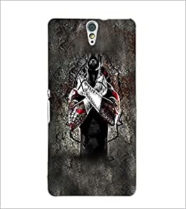 PrintDhaba Cross D-5595 Back Case Cover for SONY XPERIA C5 ULTRA (Multi-Coloured)