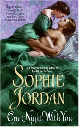 One Night With You written by Sophie Jordan