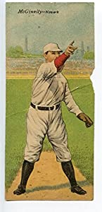 Buy 1911 T201 Mecca Double Folder Tobacco Baseball McGinnity McCarty Newark by Hollywood Collectibles