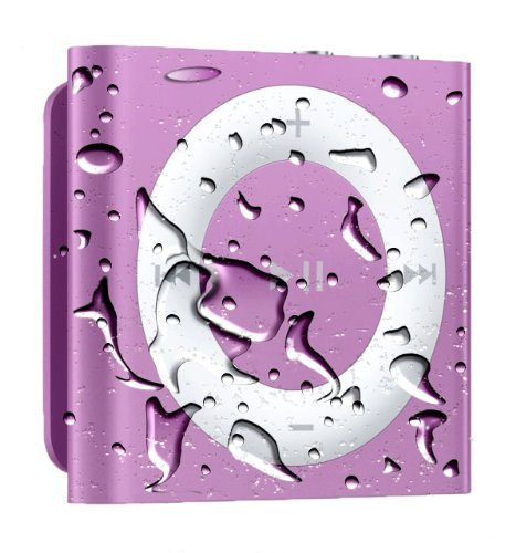 Waterproof Ipod Shuffle With Free Waterproof Headphones - Purple