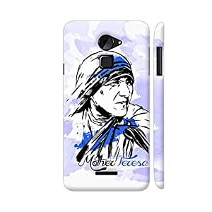 Colorpur Mother Teresa Painting On Blue Artwork On Coolpad Note 3 Lite Cover (Designer Mobile Back Case) | Artist: Designer Chennai